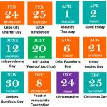 えっ、明日祝日!?フィリピンの祝日制度